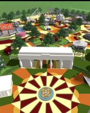 НОВ ЛУНА ПАРК   Град Скопје го објави изгледот на новиот забавен парк