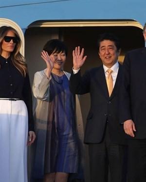 Сопругата на јапонскиот премиер јако го зезна Трамп  па сега сите ја обожаваат
