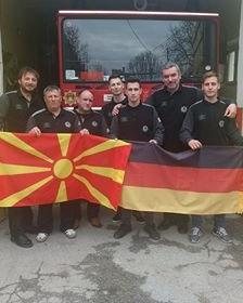 Донација од Германија за  Добровoлното противпожарно друштво  Свети Николе