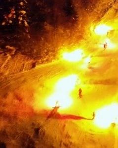 Скијачи го запалија Маврово