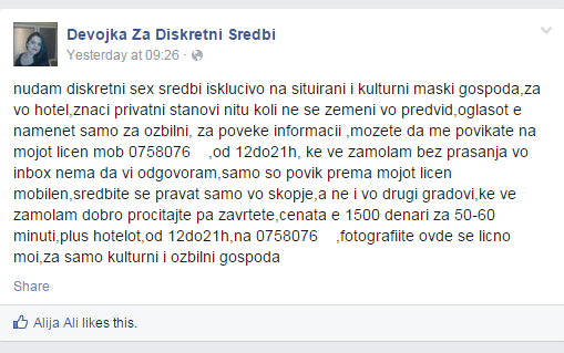 Skopje kurvi broj od Oglasnik kurvi