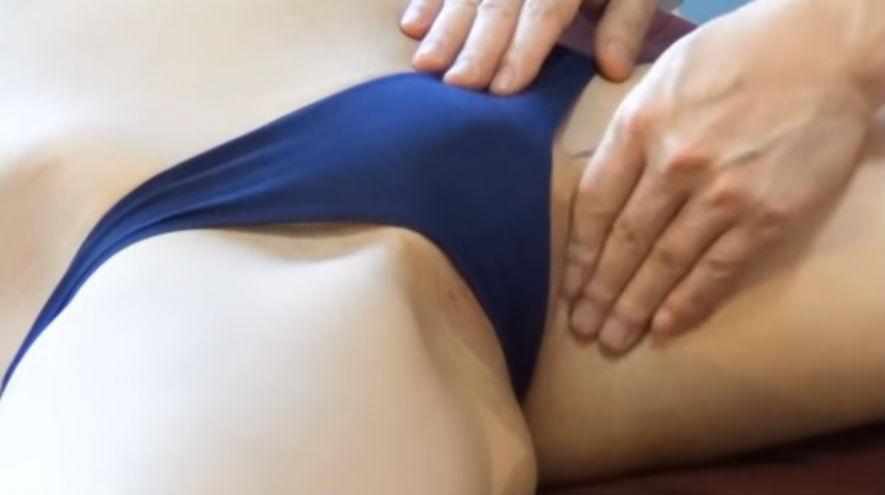 Видео секси масаж