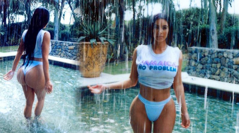 ГАЛЕРИЈА  Приватни фотки на Ким Кардашијан во базен